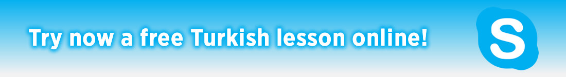Try now a free Turkish lesson online